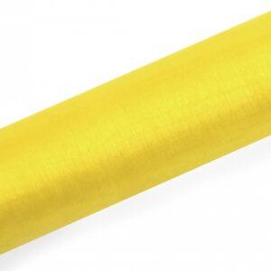PartyDeco Organza žlutá 16cm x 9m