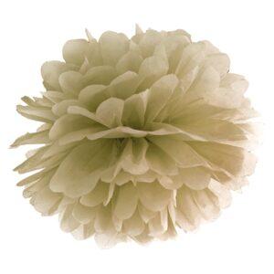 PartyDeco Pompom ve tvaru zlatého květu 35 cm