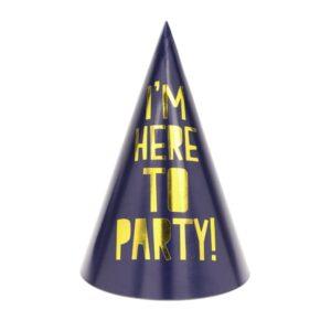 PartyDeco Silvestrovské party kloboučky