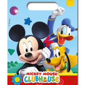 Procos Dárková párty taška - Mickey Mouse 6 ks