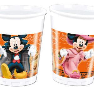Procos Kelímky Mickey Halloween 8 ks
