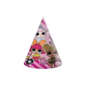 Procos Párty kloboučky - LOL Glitterati 6 ks