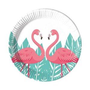 Procos Talíře Flamingo 8 ks
