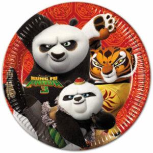 Procos Talíře Kung Fu Panda 8 ks
