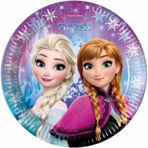 Procos Talíře ve stylu Frozen 8 ks