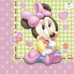Procos Ubrousky Minnie Mouse - Baby 20 ks