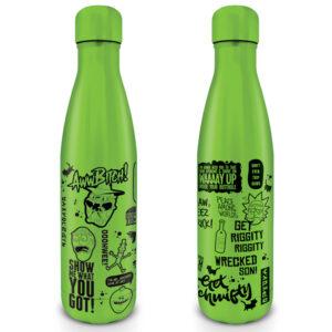 Pyramid Kovová láhev na nápoj Rick and Morty