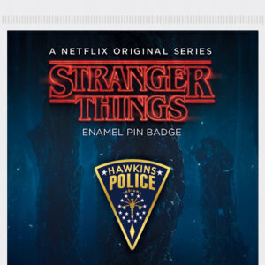 Pyramid Odznak Stranger Things - Hawkins Police