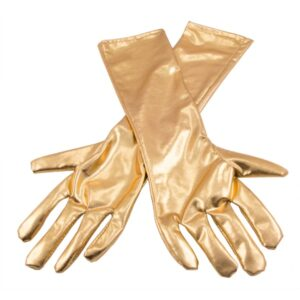 RUKAVICE metalické zlaté