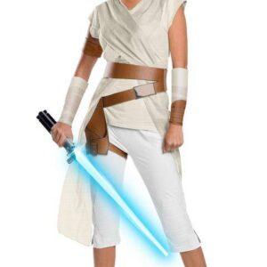 Rubies Dámský deluxe kostým - Rey (Star wars) Velikost - dospělý: L