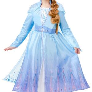 Rubies Dětský deluxe kostým - Elsa (šaty) Velikost - děti: XL