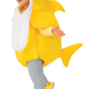 Rubies Dětský kostým Baby Shark - žlutý Velikost nejmenší: 6 - 12 měsíců