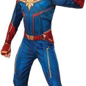 Rubies Dětský kostým - Hero Kapitán Marvel Velikost - děti: L