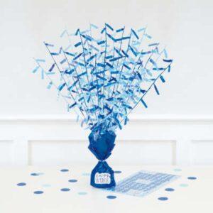 TĚŽÍTKO na balónky střapaté modré