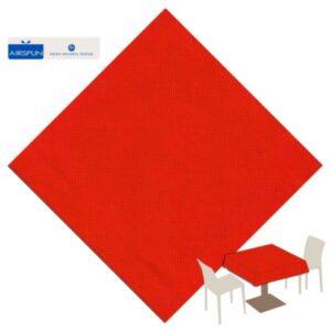 UBRUS Airspun Party červený 140x240cm
