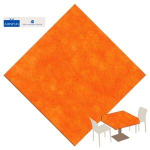 UBRUS Airspun Party oranžový 140x240cm