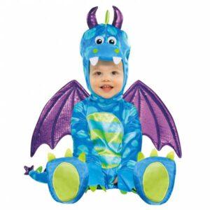 Amscan Kostým pro nejmenší - Malý drak Velikost nejmenší: 6 - 12 měsíců