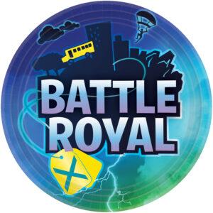 Amscan Talíře - Battle Royal 8 ks