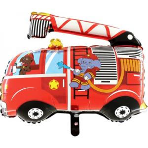 BP Fóliový balón - Hasičské auto pes