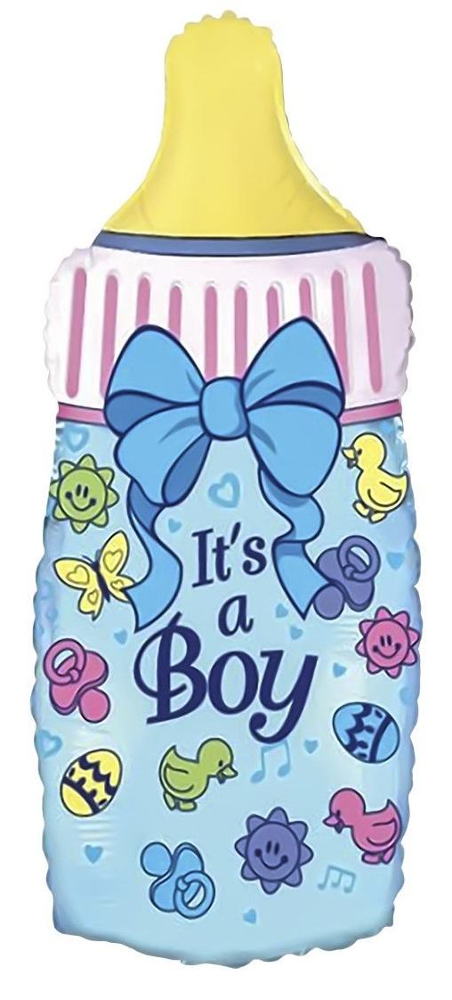 BP Fóliový balón - Láhev Je to kluk