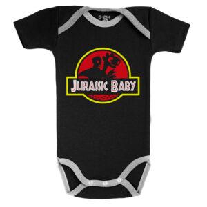 Baby-Geek Dětské body - Jurassic Baby Velikost nejmenší: 12-18 měsíců