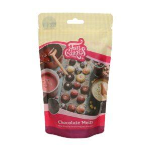 CakeSupplies Hořká čokoláda kousky - Dark Melts 350 g
