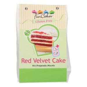 CakeSupplies Směs na výrobu piškoty Red Velvet Cake 400 g Gluten Free