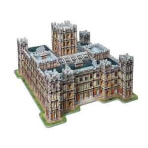 Distrineo Downton Abbey hrad - 3D puzzle