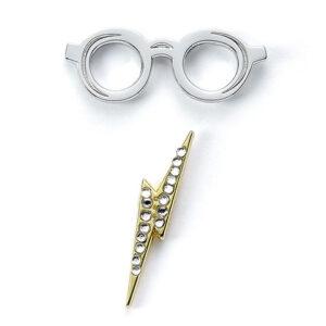 Distrineo Odznak Harry Potter - Brýle a jizva