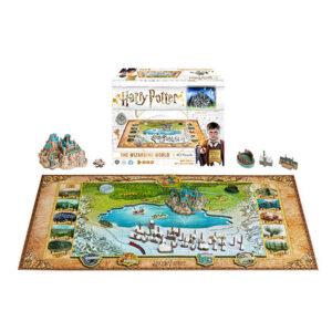 Distrineo Svět Harry Pottera - 4D Puzzle
