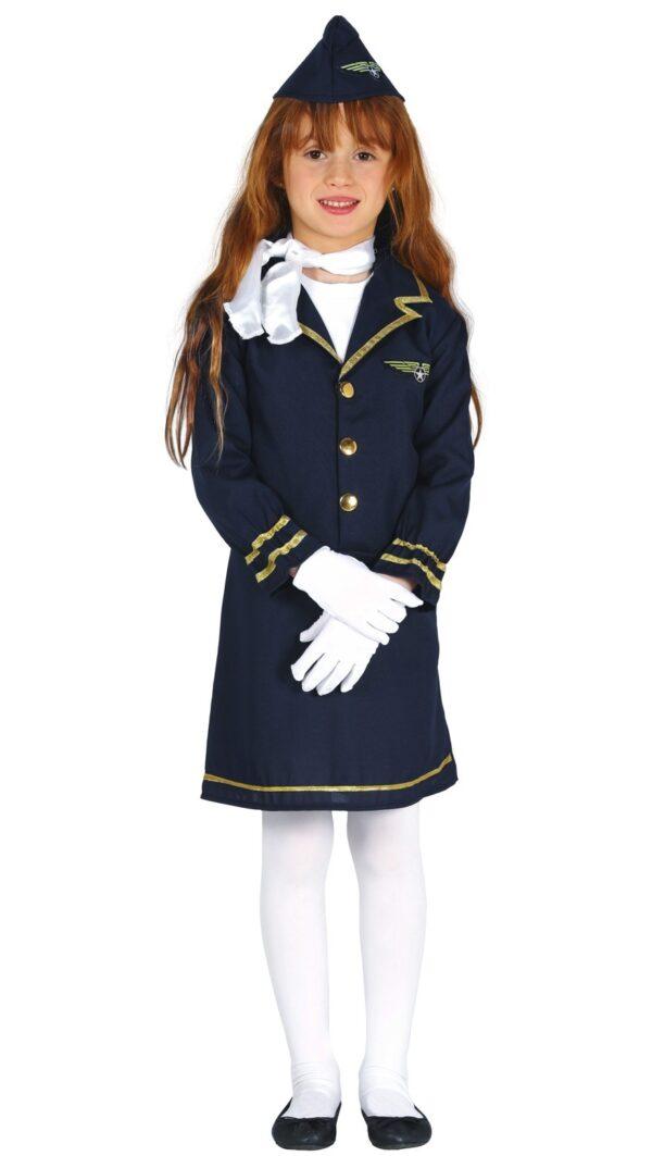 Guirca Dětský kostým - letuška Velikost - děti: XL