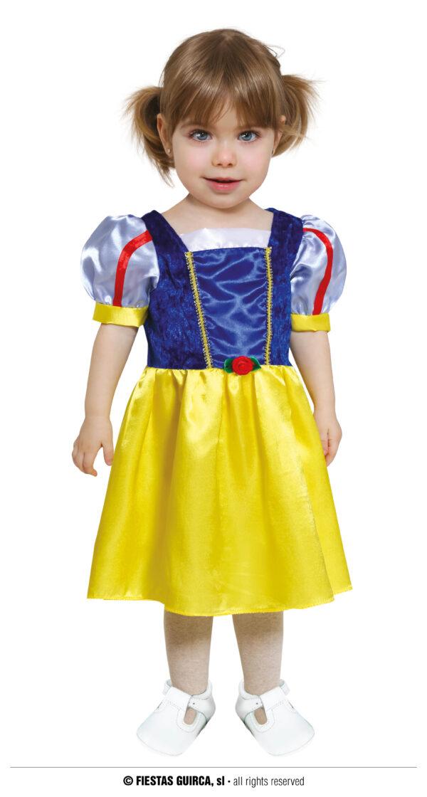 Guirca Dětský kostým pro nejmenší - Sněhurka Velikost nejmenší: 6 - 12 měsíců