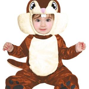 Guirca Dětský kostým pro nejmenší - Veverka Velikost nejmenší: 12 - 24 měsíců