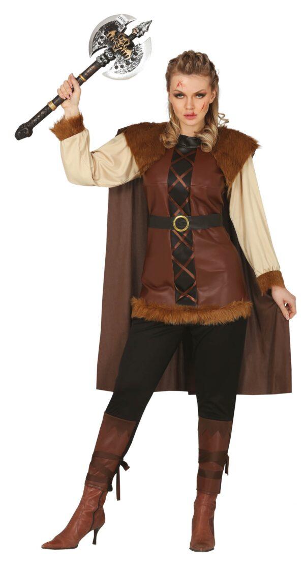Guirca Kostým - Viking žena Velikost - dospělý: L