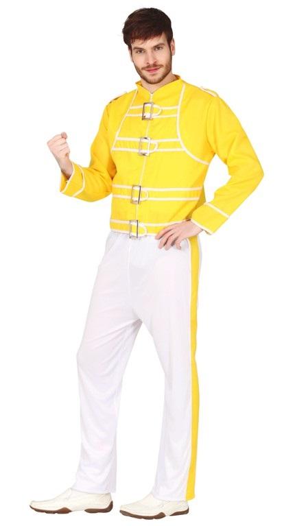 Guirca Pánský kostým - Freddie Mercury Velikost - dospělý: L