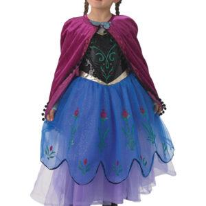 Rubies Kostým Frozen: Anna Premium Velikost - děti: L