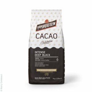 Van Houten Deep Black Kakaový prášek 100% 1 kg